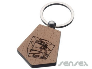 Wood Key Chains