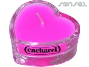 Heart Shaped Tea Candles