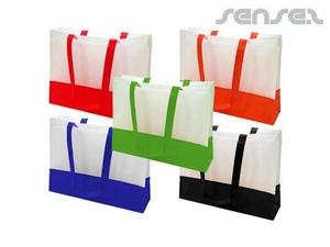 Dual Colour Non-Woven Bags