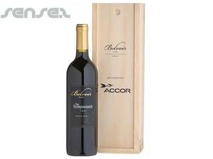 Wein-Verpackung - Einzel Pine Gift Box