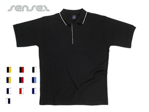Contrast Unisex Polo Shirts