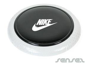 Schwarzes Frisbee