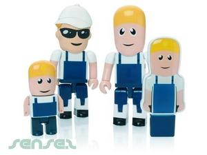 Arbeiter Builder 1GB USB Sticks