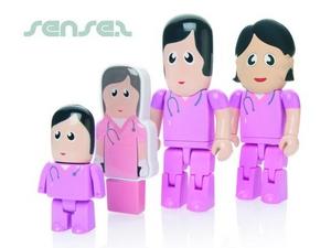 Krankenschwester Shaped 1GB USB Sticks