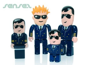 Pilot Shaped 2GB USB Sticks