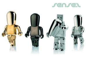Robot USB Stick People (2GB)