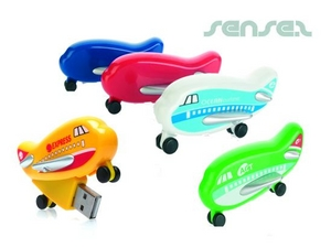 1GB Plane Shaped USB Sticks
