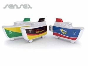 1GB Schiff geformte USB-Sticks