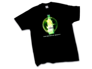 Beleuchtete LED-Leuchten-Logo-T-Shirts