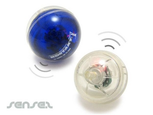 Rubber Bouncy Balls With Sound & Light