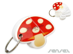 Notepad Key Chains