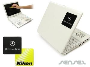 Laptop Aufkleber - Microfaser Tuch