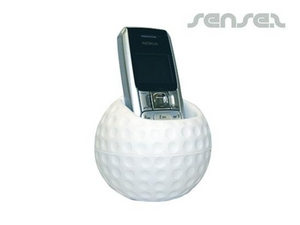 Golf Mobile Phone Holder Stress Balls