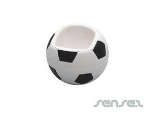 Fußball Handyhalter Stressbälle