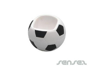 Soccer Mobile Phone Holder Stress Balls