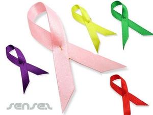 Support Satin Ribbon Pins