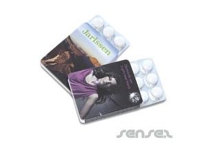 Mentos Gum In Blister Packs