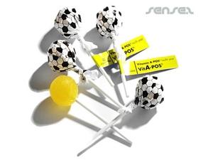 Fußball-Lolly