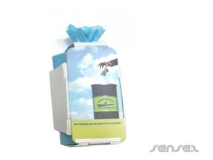 Biologisch abbaubare Einweg-Taschen (Packung mit 15)