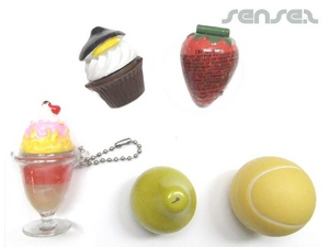 Lip balms In Fruit Or Tennis Ball Shape