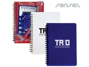 Notepad With Stationery Pouches