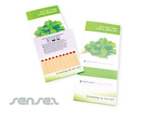 Seed Books - Header Card With Magnets Option