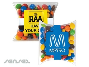 M & Ms In Pillow Packs 100 G