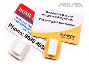 Magnetic Clip Karten
