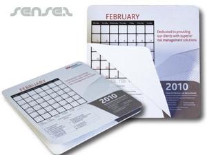 Kalender-Mausunterlage Notizblöcke