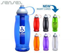 Water Bottles With Ice Bar (BPA Free)
