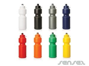 Flip top Water Bottles 750ml (BPA Free)
