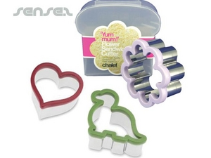 Lunchbox mit Sandwich Cutters