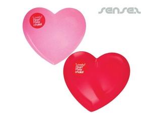 Herz-Form-Platten