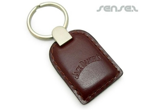 Gepolsterte Leder-Schlüsselanhänger