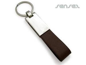 Leder PU-Armband Schlüsselanhänger