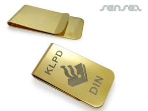 Money Clips - Gold