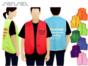 Charity Volunteer Vests