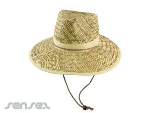 Aussie Straw Hats with Toggle