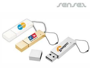 スマートメタルUSBスティック(1GB)