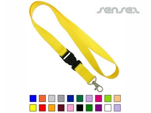 Sublimation Lanyard with Buckle (4 col print)