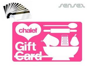 Magnetic Stripe Plastic Giftcard