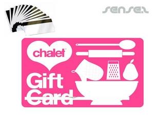 Magnetstreifen-Kunststoff Geschenkkarte