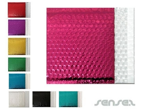 Foil Bubble Envelopes - coloured  (165x165mm)