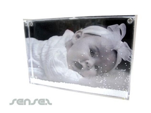 Liquid Filled Photoframe (Rectangle)