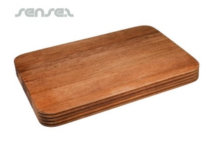 Grooved Wooden Chopping Boards (Medium)