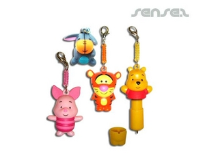 Custom Character Pen Keyrings