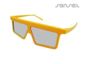 3D-Brille mit Kunststoffrahmen (3D-Filme)