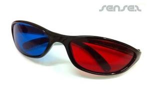 3D-Brille mit Kunststoffrahmen