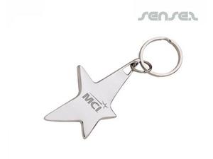 Star Shaped Key Chain