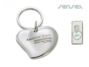 Heart Shaped Keyrings